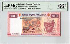 Djibouti 2005 P-42a PMG Gem UNC 66 EPQ 1000 Francs