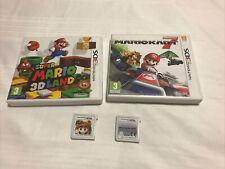 Nintendo 3ds Paquete De Juegos Mario Kart 7 y Super Mario 3D Land