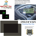 Polarized Filter Film Adhesive Sheets For Dashboard Display LCD Watch Screen 2pc