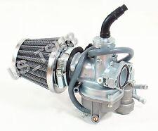 Carburetor & Air Filter for Honda ATC90 ATC110 ATC125M TRX90 TRX125 Trax ATV
