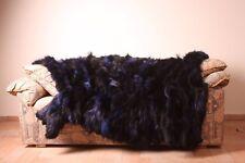 Fox fur Vulpes blanket throw comfort softness saga furs best quality cozy home