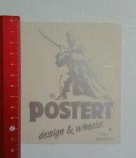Aufkleber/Sticker: Postert design & wheels (12031648)