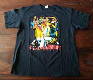 Slayer T-Shirt Vintage Sodom Kreator Motörhead Venom Nifelheim Destruction