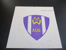 090616 original DDR Oberliga Aufkleber BSG Wismut Aue aus DDR Zeiten