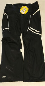 NEW! CAN-AM WOMENS Ladies Cross OFF-ROAD RIDING Pants size 14 Black WATERPROOF