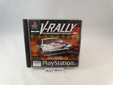 V-RALLY 2 CHAMPIONSHIP EDITION PLAYSTATION 1 3 PS1 PS2 PS3 PAL ITALIANO COMPLETO