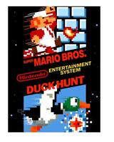 Super Mario Bros. / Duck Hunt Nintendo Nes Cleaned & Tested Cart Only Authentic