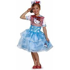 Disguise Hello Kitty Sailor Deluxe Girls Halloween Costume Tutu Dress Medium 7-8