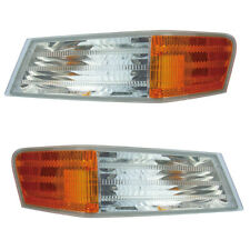 07-15 Jeep Patriot Driver & Passenger Side Park Signal Lights Pair Set