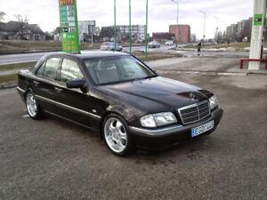Mercedes-Benz C-Class W202 1993-2000 Sedan  Boot Lip Spoiler Unpainted