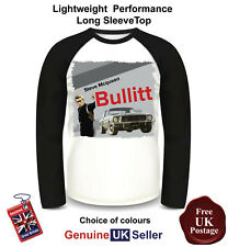 Bullitt Steve Mcqueen Shirt, Long Sleeve T Shirt, Men's Top,