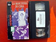 VHS.03) LA MASCHERA DI CERA - HOBBY & WORK
