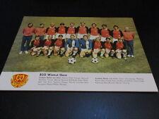 250516 A3 Poster BSG Wismut Gera DDR Oberliga 1977