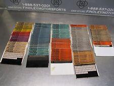 Polaris ATV Microfiche Parts Manual Lot Trail Boss Blazer Scrambler 250 300 400