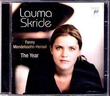 Lauma SKRIDE: Fanny MENDELSSOHN-HENSEL Das Jahr Charakterstücke The Year CD NEU