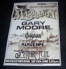 Marillion concert poster Milton Keynes Bowl 1986 new A3 size repro
