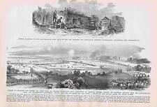 Battle of Antietam-Rappahannock-Lake Providence-Fort Hudson 1895  Engraving