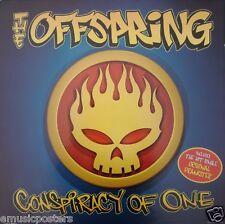 """Offspring """"Conspiracy Of One"""" Australian Promo Poster - Skull Logo Artwork"""