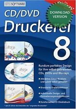 CD/DVD Druckerei 8 kompatibel zu DATA BECKER / Download-Version