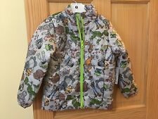 New Disney Store Toy Story 4 LightWeight Puffyer Jacket 5/6 7/8 Gray Green