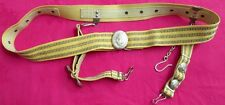 Original Soviet Navy/Sub/Marines Officer Dagger Belt/Buckle with Hangers/Russia