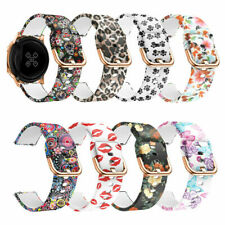 For Samsung Galaxy Watch Active 2 44 40mm 42 Silicone Bracelet Sports Band Strap