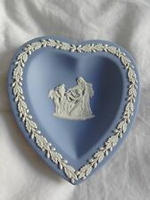 Authentic Wedgwood heart shaped plate dish stamped 1956 Made in England