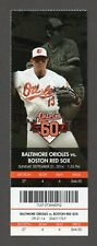 Mookie Betts 1st Lead-Off HR #5 Red Sox Orioles 9/21/2014 Full Ticket RARE