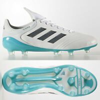 adidas Copa 17.1 FG White Grey Mens Leather Football Boots SIZE 6 7 8 8.5 9 11