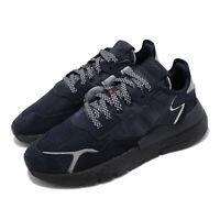 adidas Originals Nite Jogger BOOST Navy Black Men Casual Lifestyle Shoes EE5858