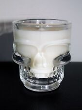 SUGAR SKULL SHOT GLASS SCENTED SOY CANDLE! DAY OF THE DEAD GOTH HALLOWEEN PUNK