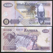 Zambia 100 Kwacha 1992 Pick 38b UNC 1/x Replacement