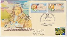 1984 FDC Australia - 50th Anniversary 1st Official Air Mail - 3 x Stamps (b)