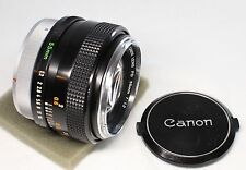 Canon FD 55mm f/1.2 Manual Focus MF Lens Made In Japan