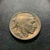 1927 D Buffalo Nickel AU About Uncirculated UNC Indian Head Bison 5c