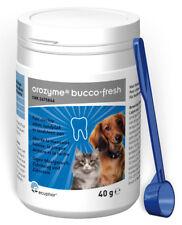 2x Orozyme® Bucco-Fresh PlaqueOff für Hunde und Katzen MHD 01/21