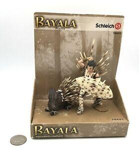 Schleich Bayala Fantasy Fairy FIZZIO ELF & PORCUPINE Retired NEW 70441 HTF!