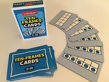 Lakeshore Learning Ten-Frames Card Deck, Standard Playing Card Size, Nos. 0-20