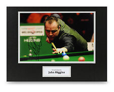 John Higgins Signed 16x12 Photo Snooker Autograph Display Memorabilia + COA