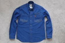G Star Faeroes Work Mix Shirt L/S Size Large