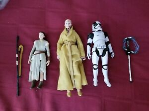 Star Wars Black Series Rey Snoke First Order Executioner Stormtrooper lot