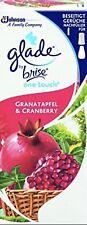 LOT DE 2 GLADE  grenade cranberry - Recharge diffuseur granatapfel
