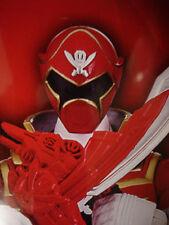 Power Rangers Super Megaforce Armored Mega Red Ranger Gokaiger Sentai MMPR Green