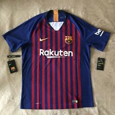 Barcelona FC 2018/2019 Nike VaporKnit Jersey Player Issue Large Barca Authentic