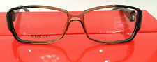 GUCCI GG3022 TYJ BROWN PLASTIC EYEGLASSES FRAME W/STONES STORE DISPLAY 54-14-135