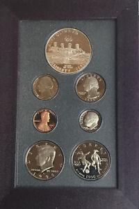 Genuine 1996 US Mint 7 Coin Prestige Proof Set in Original Box - NO COA S915
