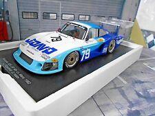 PORSCHE 935 Turbo Langheck Moby Dick Le Mans 1982 #79 Fitzpatr JDavid Spark 1:18
