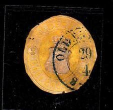 OLDENBURG STAMPS 3 GROSCHEN , #19b USED , CV 500 EURO