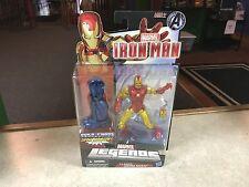 "Marvel Legends 6"" Figure MOC BAF Iron Monger Series CLASSIC IRON MAN"