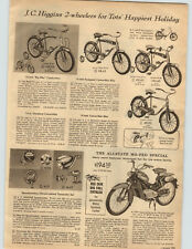 1958 PAPER AD Sears Allstate Mo-Ped Motorcycle 2 HP 150 MPG 49 cc Austrian Made